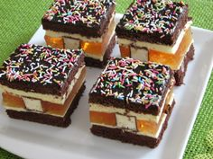 Polish Recipes, Polish Food, Mini Cakes, Tiramisu, Cheesecake, Food And Drink, Eat, Cooking, Ethnic Recipes