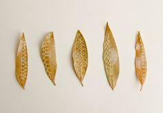 Hillary Fayle : Stitched Leaves