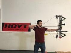"""Der Hoyt RX-3 in Real Tree Edge mit 55# und dem Bogenköcher Solo 2 Piece.  """"Get Serious Get Hoyt"""" Hoyt Archery, Pressure Points, Round Round"""
