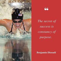 The secret of success is constancy of purpose.  Benjamin Disraeli  #quotes #mondayquoteday