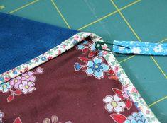 Japanischen Lotus Beutel nähen Häkelanleitung Baby, Stoff Design, Floral Tie, Lotus, Beach Mat, Outdoor Blanket, Sewing, Diy, Accessories