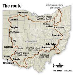 Thru Hiking The Buckeye Trail - A 1,400 Mile Journey Around Ohio - Tri-State Hiking Club .com (Cincinnati , OH) - Meetup