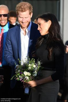 Nottingham gave them a very warm welcome for the first of many engagements in the months ahead. I would class today as a resounding success, well done Meghan!