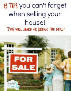 This is exactly how we sold our house right away & made MORE money than we thought!