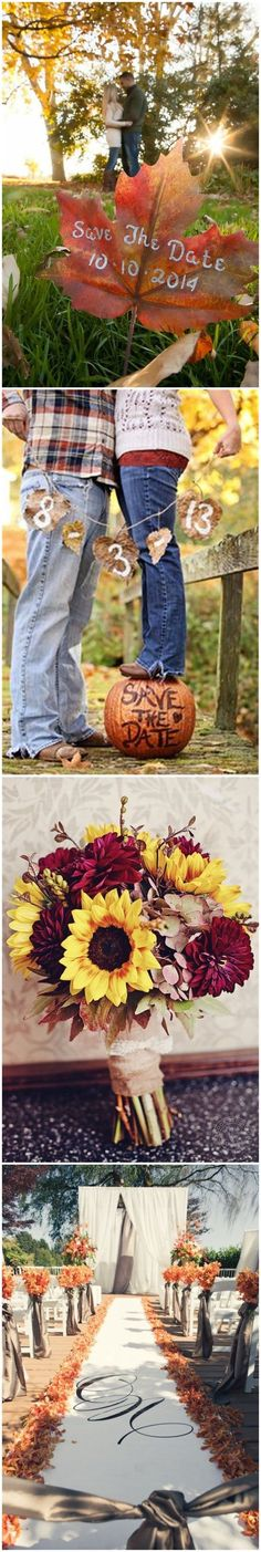 Fall Weddings » 23 Best Fall Wedding Ideas in 2017 » ❤️ See more: http://www.weddinginclude.com/2017/03/best-fall-wedding-ideas/