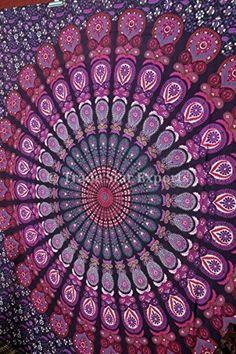Handicrunch Mandala Tapestry, Indian Wall Hanging, Bohemi... https://www.amazon.fr/dp/B00YUBVF90/ref=cm_sw_r_pi_dp_x_lByMybMFQX14C