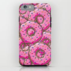 Made a sale of my lovely donuts @society6 -  You can't buy happiness, but you can buy many donuts! iPhone & iPod Case