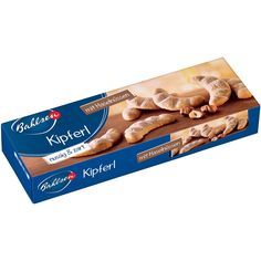 -in USA- Bahlsen Kipferl Cookies with ground hazelnuts - 125 g