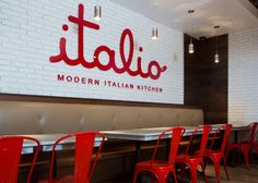 Push: Italio Modern Kitchen Identity and Collateral