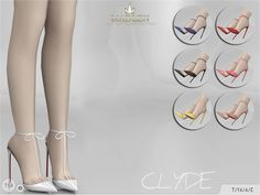 Madlen Clyde Shoes - The Sims 4 Catalog Sims 3, The Sims 4 Pc, Sims 4 Mm Cc, Sims 4 Cas, Sims Mods, The Sims 4 Shoes, Sims4 Clothes, Sims 4 Gameplay, Sims 4 Cc Packs
