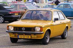 1978 Opel Kadett C & Dutch license plate.