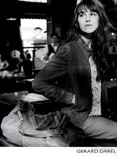 Charlotte Gainsbourg for Gérard Darel