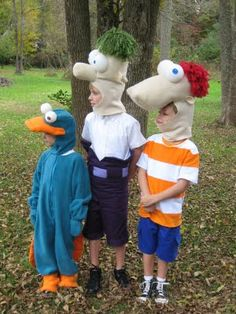 phineas and ferb halloween costume - Phineas Halloween Costume