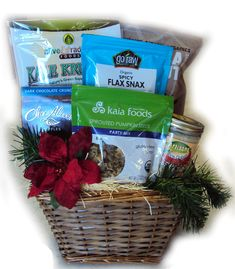 Gourmet healthy gift basket you can get gluten free diabetic raw food christmas gift basket vegan and gluten free negle Image collections