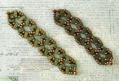 Linda's Crafty Inspirations: Bracelet of the Day: Crossroads Variation