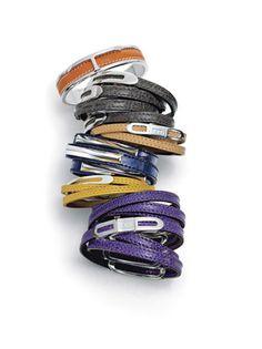 tod's cuff and calf wrap bracelets