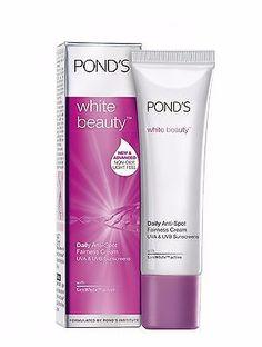 Ponds Fairness Cream - White Beauty Daily Anti Spot All Skain Types, 20 gm