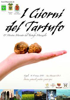 Truffle Market Exhibition  16 -17 March  in Cigoli near San Miniato