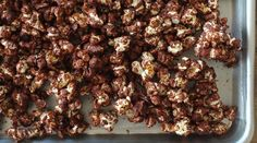 Chocolate Popcorn Almond Clusters : Recipes : do it Delicious