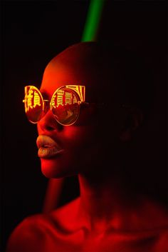 Canadian photographer Mathew Guido was commissioned by Schon! Magazine to shoot this striking fashion editorial featuring Kenyan model Naro Lokuruka. More beauty photography via Behance