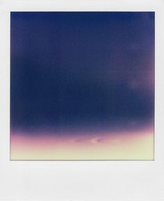 Good design makes me happy: Ruined Poloroids