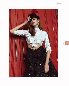 "Anthony D'Elia on Instagram: ""Published in @elegantmagazine Model: @caitlinnusche Agency: @nextcanada Stylist: @leeichk Hair/MUA: @kimc.artistry Shirt:…"" Waist Skirt, High Waisted Skirt, Stylists, Skirts, Model, Hair, Vintage, Instagram, Style"