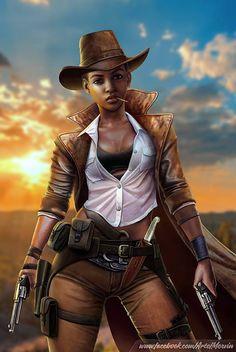 #ArtofMervin : Quickshot, The Lone Gunslinger