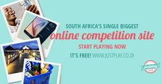 Join Justplay today and stand a chance to win cars, cash & vouchers, holidays and a lot more! Win Car, Free Competitions, South Africa, Ads, Play, Awesome, Join, Holidays, Crafts