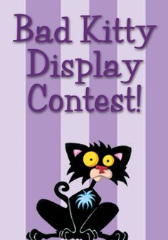 Enter the Bad Kitty Display Contest for a chance to win a visit from Nick Bruel and the Bad Kitty costume, plus a $500 American Express Gift Card to host your own Bad Kitty party!