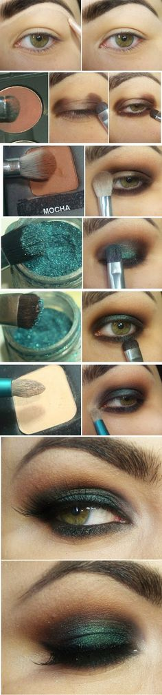 Adorable Brown and Green Makeup Tutorials # Step by Step / Best LoLus Makeup Fashion