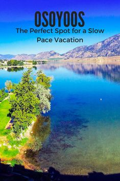 Looking for things to do in Osoyoos in summer? Look no further! Osoyoos has a relaxing slow pace about it but lots of activities as well! Things To Do In Kelowna, Visit Canada, Canada Eh, Travel Usa, Columbia Travel, Travel Tips, Canada Destinations, Canadian Travel, Trip Planning