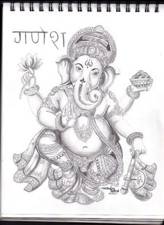 Ganesh Hindu God by babyphatcutie101 on DeviantArt