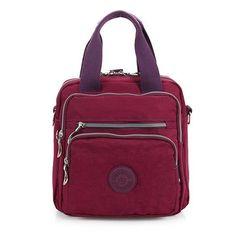Light Weight Waterproof Bags Multi Pockets Shoulderbags Multifunction Crossbody Bags Backpack