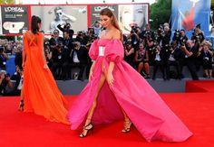 Dayane Mello et Giulia Salemi ont presque tout montré sur le tapis rouge de la Mostra de Venise