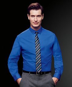 Alfani Spectrum Solid Slim-Fit Long-Sleeve Dress Shirt-coral