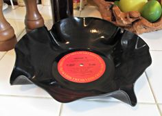 """Chicago III"" Vinyl Record display bowl! Soo cool #80s like #boom long weekend #music http://boom973.com/"