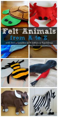 Check out our adorable felt animals!! We are making an animal for every letter in the alphabet!  This has been great for my preschool-aged son who has learned his beginning sounds with our alphabet felt animals.  Each post includes a free printable with instructions and a template, as well as a coloring page for little...Read More »