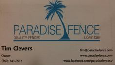 Quality fence and gates!