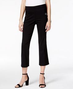 34.99$  Buy here - http://viwfa.justgood.pw/vig/item.php?t=bo0j8tv35410 - Cropped Straight-Leg Pants, Only at Macy's