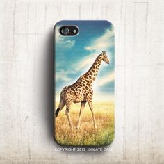 Giraffe iPhone 5S case  Sky iPhone 4s Modern iPhone by IsolateCase, $22.00