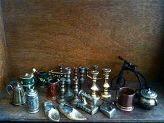 Vintage English Instant Collection of Metal Items  by EnglishShop, $49.00