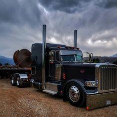Peterbilt 389, Peterbilt Trucks, Chevy Trucks, Big Rig Trucks, Semi Trucks, Cool Trucks, Custom Big Rigs, Custom Trucks, Truck Art