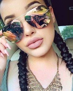 20d7b23f62 My Muse Sexy Girl Women Oversized Mirror Reflective Lens Women Men  Sunglasses in Clothing