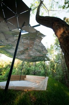 Gallery of Tulane Students Upcycle Traffic Signs into Shade Canopy - 5