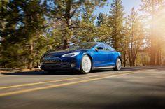 2015 Tesla Model S 70D - Provided by MotorTrend