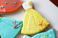 Dress Cookie | Cookies In Color | Shannon Tidwell
