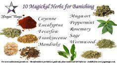 10 Banishing Herbs
