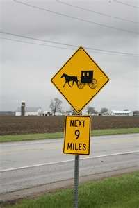 caution...watch for buggies