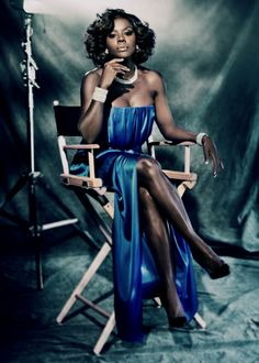 "breathtakingqueens: ""  Viola Davis photographed for New York Moves by Gomillion and Leupold. """