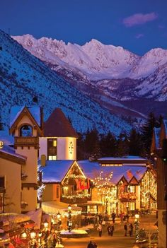 Christmas in Vail, Colorado